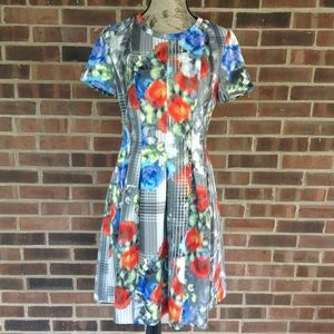 NWOT Catherine Malandrino floral dress